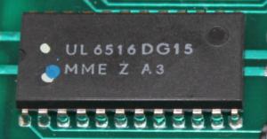 U6516 – Schaltkreis IC 16kbit Schreib-Lese-Speicher
