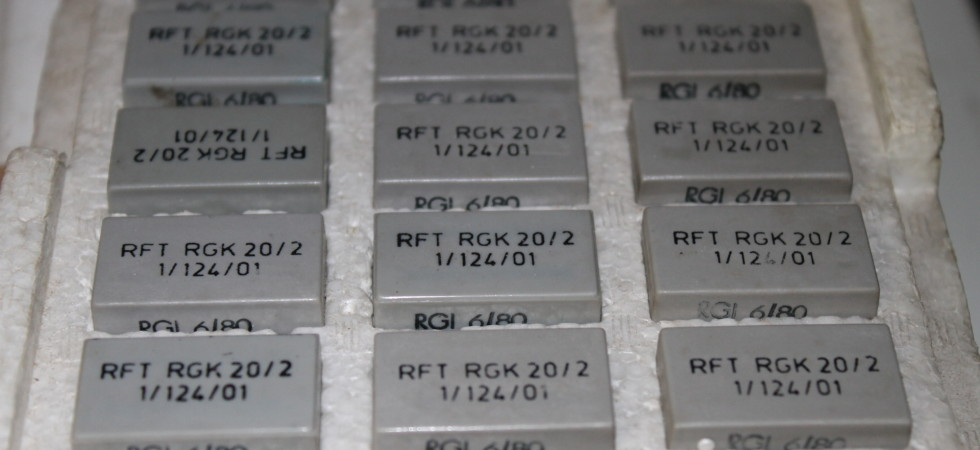 Reedrelais RGK 20//1  1//112//01 Relais Schutzrohrkontaktsystem TGL 32441 DDR VEB