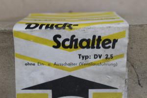 Druckschalter DV2,5