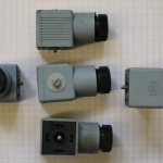 DDR RFT EBG Gerätesteckdose grau