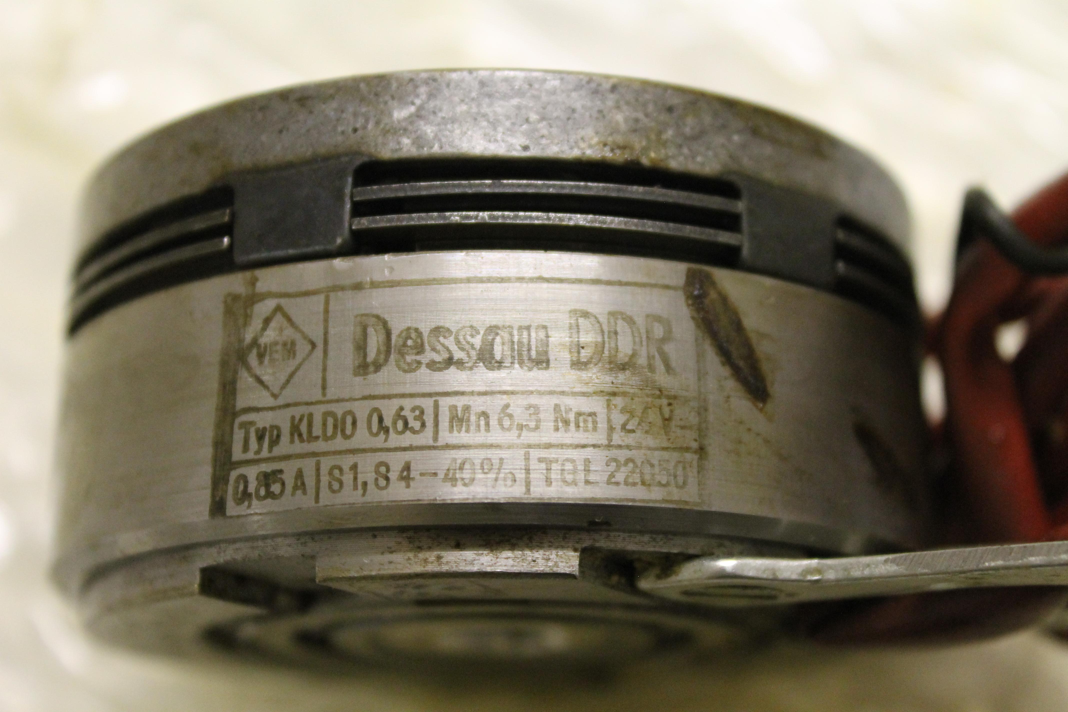 KLDO 0,63 - DDR Kupplung TGL 9922 Bohrung 12