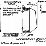 TGL 16563 Motorschutzschalter mit Gehaeuse