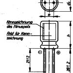 Elko-Kondensator TGL 38928 Bauform A