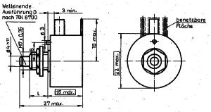 TGL 42767 - Bauform 604 Größe