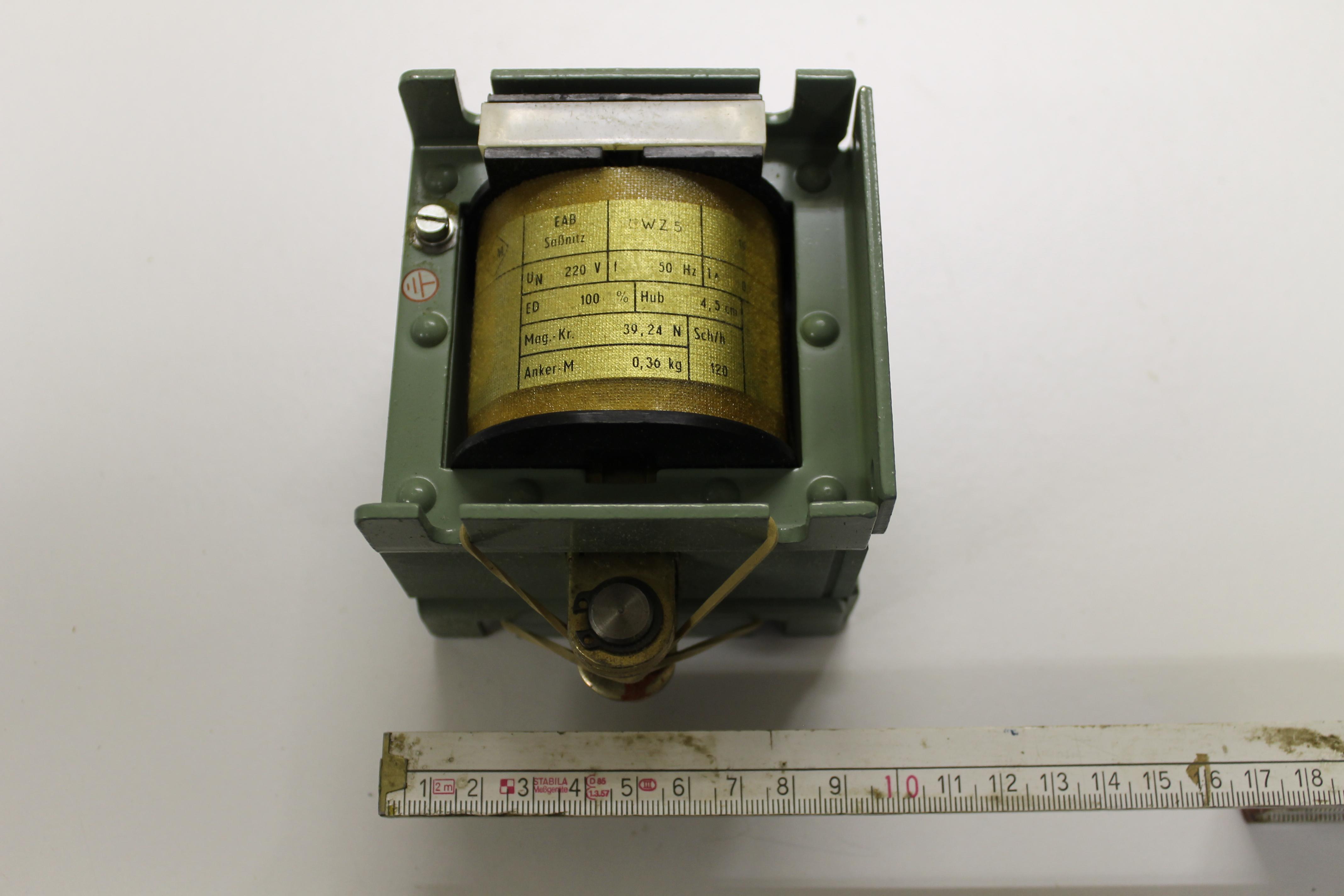 Zugmagnet WZ5 EAB Sassnitz