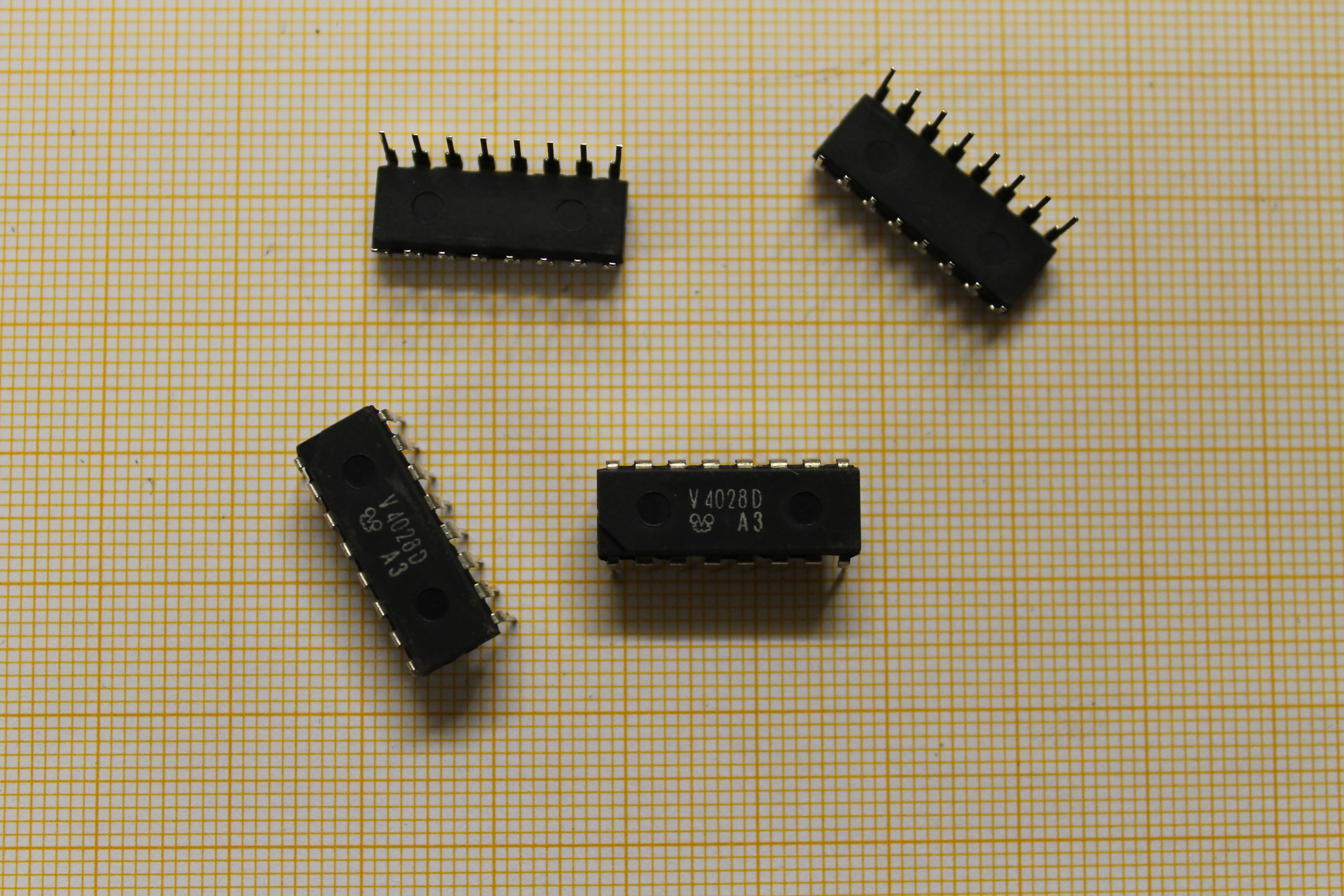 V4028 - Schaltkreis Datasheet