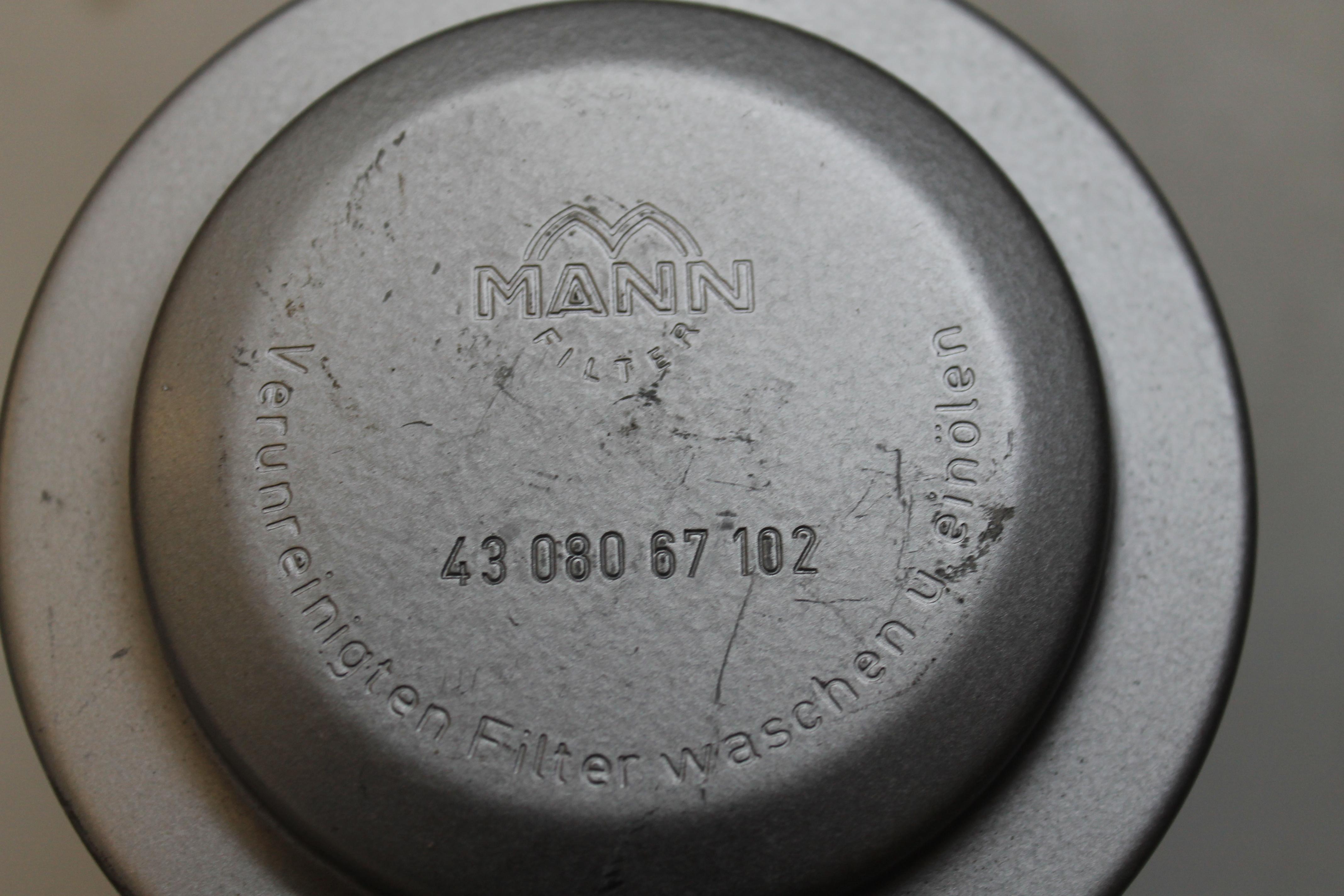 MANN Luftfilter 43 080 67 102