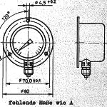 TGL 16372 Manometer Variante B